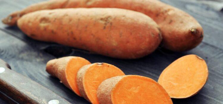 cartofi dulci pentru consum